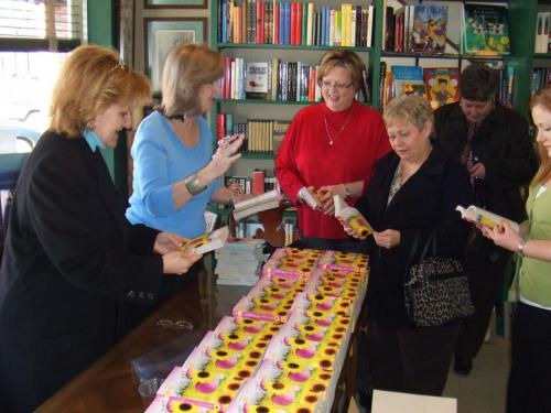 Book signing for Late Bloomers at Reeds in Tupelo