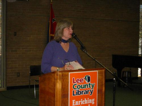 Lunching with Books, Lee County Library