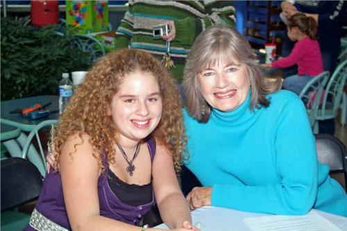 Peggy and Allie Grant