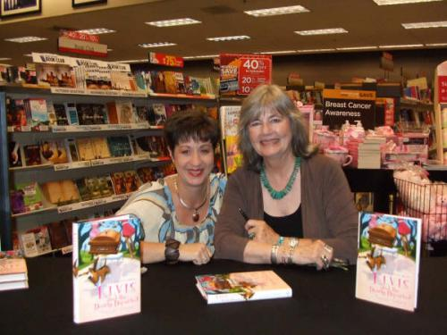 Tara & Peggy, Birmingham Books A Million signing